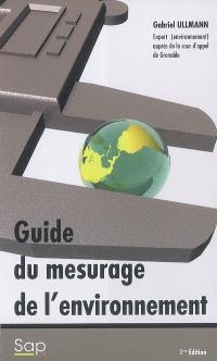 Le guide de mesurage de l'environnement