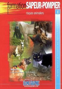 Risques animaliers : module DIV, interventions diverses, niveau équipier : schéma national de formation des sapeurs-pompiers, DIV1