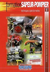 Schéma national de formation des sapeurs-pompiers, Formation sapeur-pompier : techniques opérationnelles : module TOP, techniques opérationnelles, niveau chef d'équipe