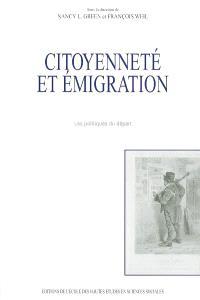 Citoyenneté et émigration : les politiques du départ