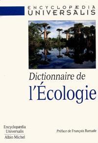 Dictionnaire de l'écologie