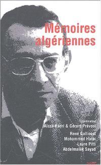 Mémoires algériennes