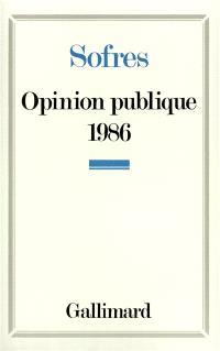 Opinion publique 1986