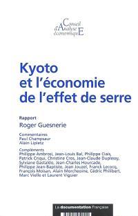 Kyoto et l'économie de l'effet de serre