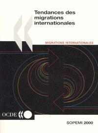 Tendances des migrations internationales : rapport annuel