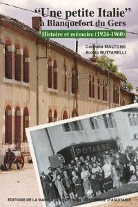 Une Petite Italie à Blanquefort du Gers : histoire et mémoire (1924-1960)