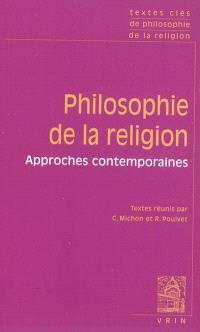 Philosophie de la religion : approches contemporaines