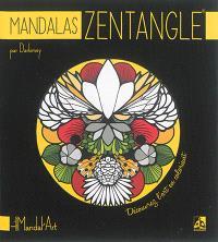 Mandalas zentangle : découvrez l'art en coloriant