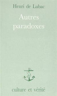 Autres paradoxes