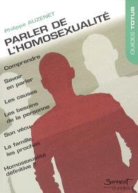 Parler de l'homosexualité