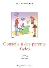 Conseils à des parents d'ados