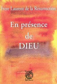 En présence de Dieu