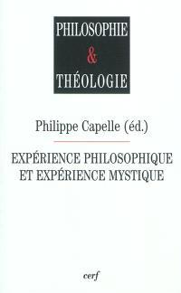 Expérience philosophique et expérience mystique
