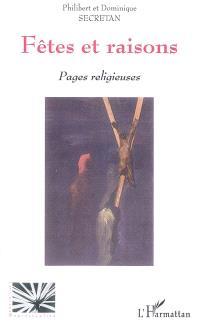 Fêtes et raisons : pages religieuses