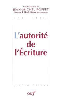 L'autorité de l'Ecriture