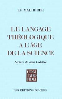 Le Langage théologique à l'âge de la science