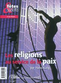 Les religions au service de la paix