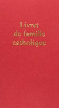 Livret famille catholique
