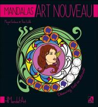 Mandalas art nouveau : pour découvrir l'art en coloriant