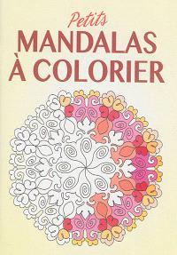 Petits mandalas à colorier