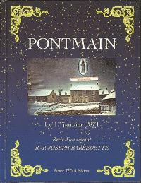 Pontmain, le 17 janvier 1871 : récit d'un voyant