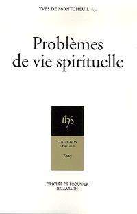 Problèmes de vie spirituelle