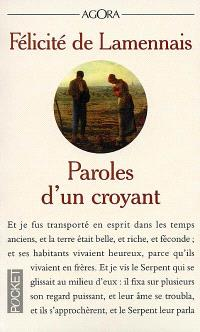 Paroles d'un croyant