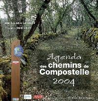 L'agenda 2004 des chemins de Compostelle