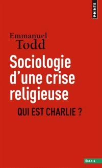 Sociologie d'une crise religieuse : qui est Charlie ?