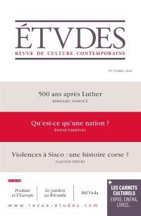 Etudes. n° 4231