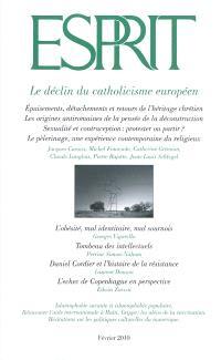 Esprit. n° 362, Le déclin du catholicisme européen