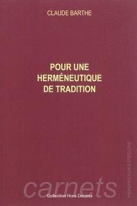 Pour une herméneutique de tradition : à propos de l'ecclésiologie de Vatican II