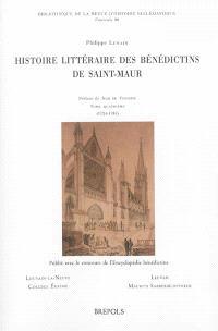 Histoire littéraire des bénédictins de Saint-Maur. Volume 4, 1724-1787
