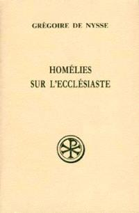Homélies sur l'Ecclésiaste