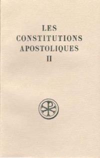 Les Constitutions apostoliques. Volume 2, Livres III-IV
