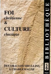 Foi chrétienne et culture classique