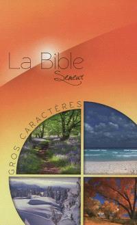 La Bible : version du Semeur : gros caractères