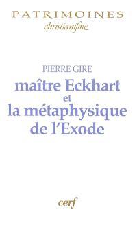 Maître Eckhart et la métaphysique de l'Exode
