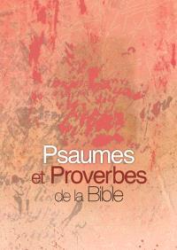 Psaumes et proverbes de la Bible