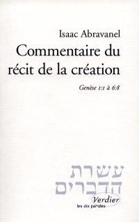 Commentaire du récit de la création : Genèse 1-1 à 6-8
