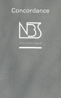 Concordance de la Nouvelle Bible Segond NBS