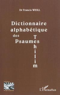 Dictionnaire alphabétique des Psaumes