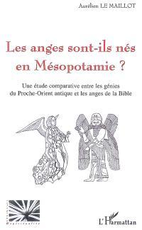 Les anges sont-ils nés en Mésopotamie ? : une étude comparative entre les génies du Proche-Orient antique et les anges de la Bible