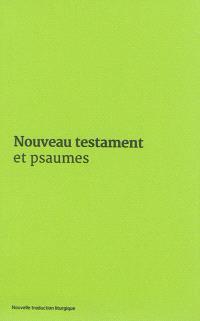 Nouveau Testament et Psaumes : couverture vinyle verte