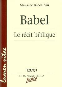 Babel : le récit biblique