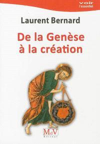 De la Genèse à la création