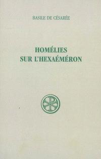 Homélies sur l'Hexaéméron