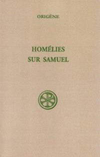 Homélies sur Samuel