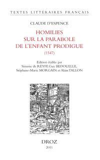 Homilies sur la parabole de l'enfant prodigue (1547)