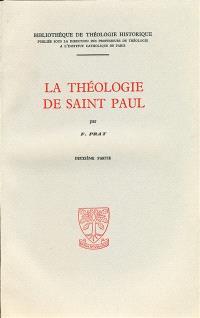 La théologie de saint Paul